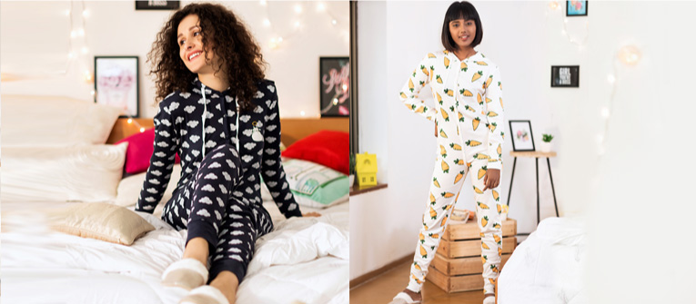 the perfect nightwear outfit - onesies