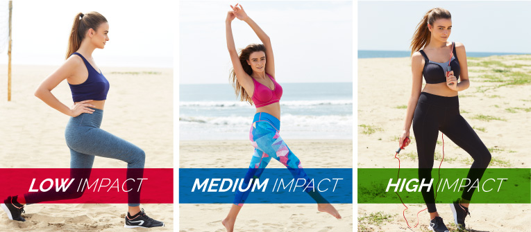 6f8d7c333e Low-impact sports bras offer mild compression and reliable support during  low intensity exercises. They prevent mild bouncing of the breasts without  ...
