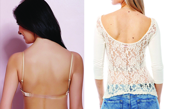Strapless or transparent strap.. the Jury is still out!