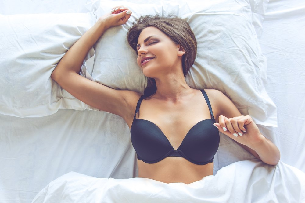 is it bad to wear a bra to bed?