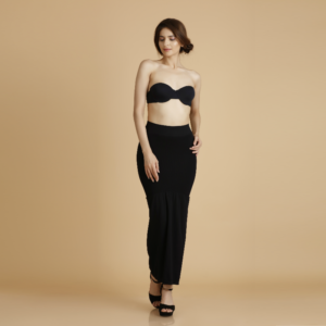 6666e8edcf Our Mermaid Saree Shapewear solves this problem – the waist is made of a  soft elastic that s just tight enough to hold your saree in place without  chafing ...