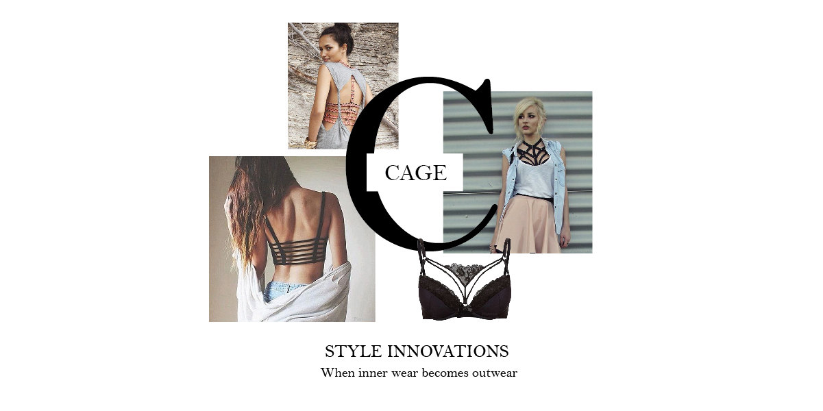 3ed1f0927 The caged bra is contemporary and classic all at once. These designer bras  have multiple stylised straps around the back and neckline and will amp up  the ...